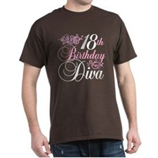 18th Birthday Diva T-Shirt