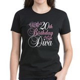20th Birthday Diva Tee