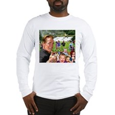 Arnold Spraying Long Sleeve T-Shirt