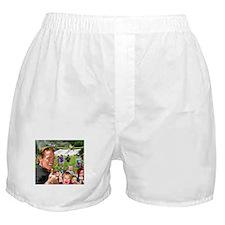 Arnold Spraying Boxer Shorts