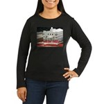 FLDS Mormon Temple Women's Long Sleeve Dark T-Shir