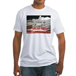 FLDS Mormon Temple Fitted T-Shirt