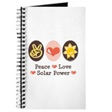 Peace Love Solar Power Journal
