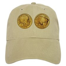 Wy-Gold Indian/Buffalo Baseball Cap