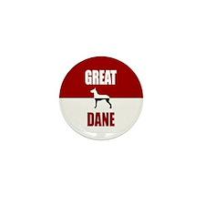 Great Dane Mini Button (10 pack)