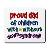 Proud Dad.....2 (With & Without DS) Mousepad