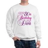 80th Birthday Diva Jumper