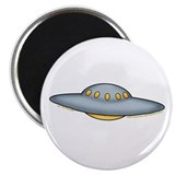 "Cute UFO Picture 2 2.25"" Magnet (10 pack)"