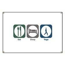Eat Sleep Yoga Banner