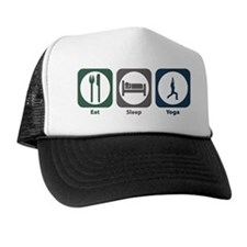 Eat Sleep Yoga Trucker Hat