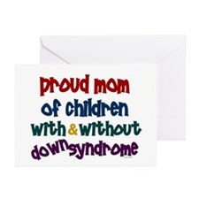 Proud Mom....2 (With & Without DS) Greeting Cards