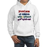 Proud Mom....2 (With & Without DS) Hoodie Sweatshirt