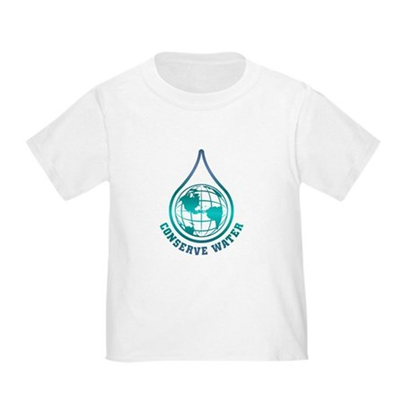 Conserve Water Toddler T-Shirt