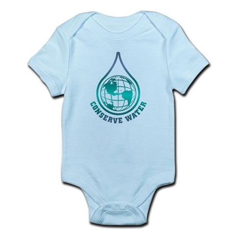 Conserve Water Infant Bodysuit