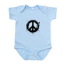 Peace Grunge Infant Bodysuit