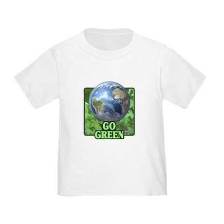 Go Green Toddler T-Shirt