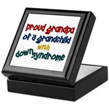 Proud Grandpa....2 (Grandchild DS) Keepsake Box