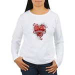 Heart Missouri Women's Long Sleeve T-Shirt