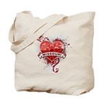 Heart Missouri Tote Bag