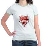 Heart Missouri Jr. Ringer T-Shirt