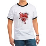 Heart Missouri Ringer T