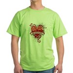 Heart Missouri Green T-Shirt