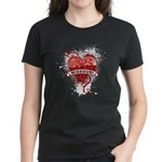 Heart Missouri Women's Dark T-Shirt