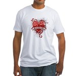 Heart Missouri Fitted T-Shirt