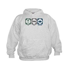 Eat Sleep Volunteer Hoodie
