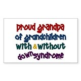Proud Grandpa....2 (With & Without DS) Decal