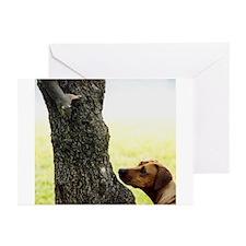 JUBA LEE RIDGEBACK Greeting Cards (Pk of 10)