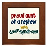 Proud Aunt....2 (Nephew DS) Framed Tile