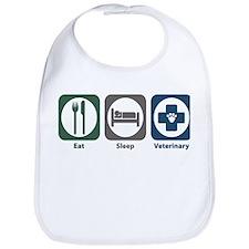 Eat Sleep Veterinary Bib