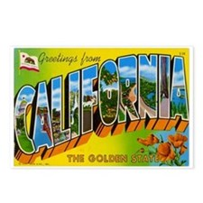 California Postcard Postcards (Package of 8)
