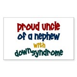 Proud Uncle....2 (Nephew DS) Rectangle Bumper Stickers