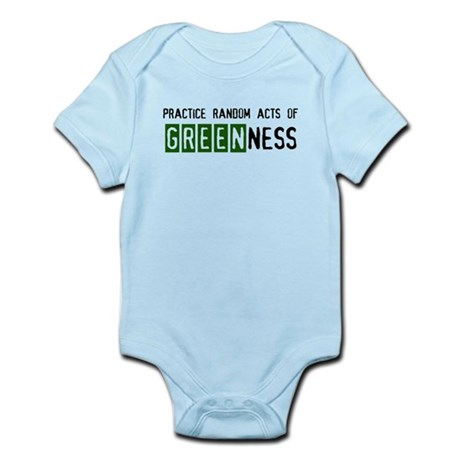 Random acts of Greenness Infant Bodysuit