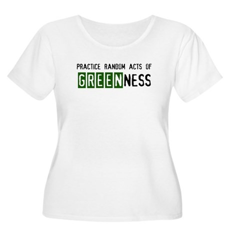 Random acts of Greenness Women's Plus Size Scoop N