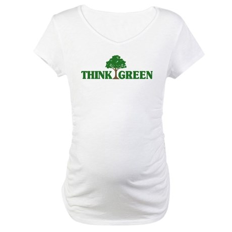 Think Green Maternity T-Shirt