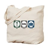 Eat Sleep Travel Tote Bag