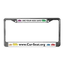 Car-Seat.Org License Plate Frame