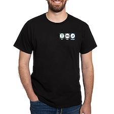 Eat Sleep Toboggan T-Shirt