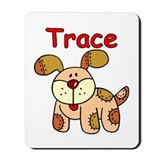 Trace Puppy Mousepad