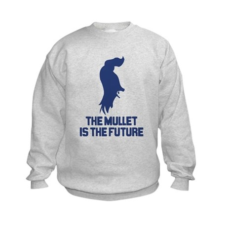 The Mullet is the Future Kids Sweatshirt