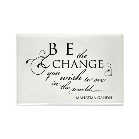 Change - Rectangle Magnet (100 pack)