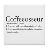 Coffeeosseur Tile Coaster