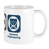 Eat Sleep Systems Engineering Small Mugs