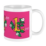 Faith Hope Love Coffee Small Mug