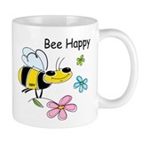 Bee Happy Coffee Small Mugs