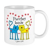 Love Cats Coffee Small Mug