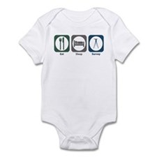 Eat Sleep Survey Infant Bodysuit